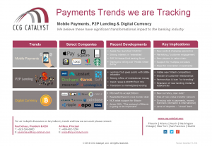 CCG Catalyst - Payments Trends we are Tracking