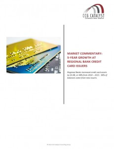 Market Commentary: 5-Year Growth at Regional Bank Credit Card Issuers