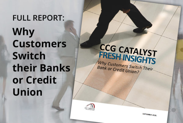 Why Customers Switch their Banks or Credit Union