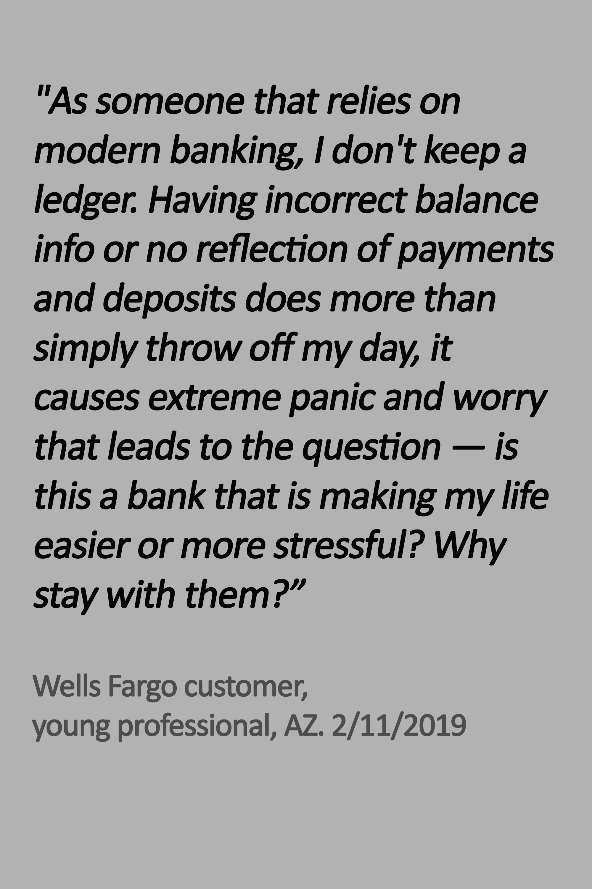 Wells Fargo: New Logo Can't Mask Same Old Technology - CCG